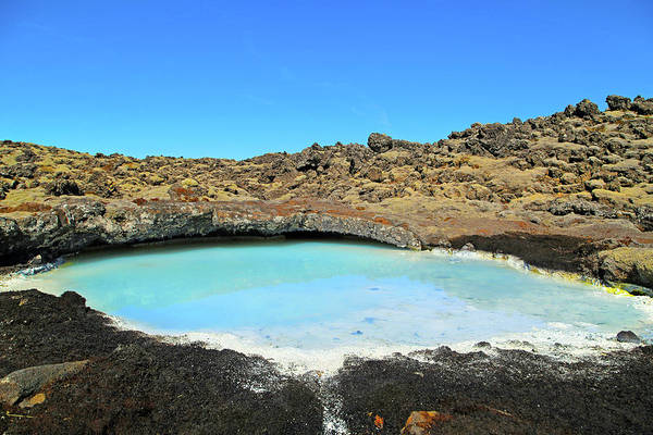 Wall Art - Photograph - Iceland Blue Lagoon Exploring The Lava Fields by Betsy Knapp