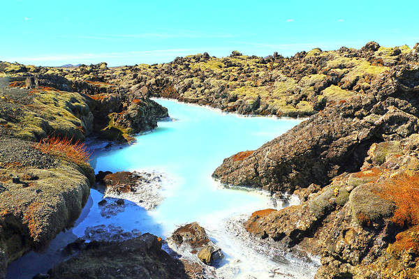 Wall Art - Photograph - Iceland Blue Lagoon Healing Waters by Betsy Knapp