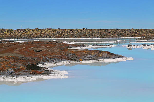Wall Art - Photograph - Iceland Blue Lagoon Lava Field by Betsy Knapp