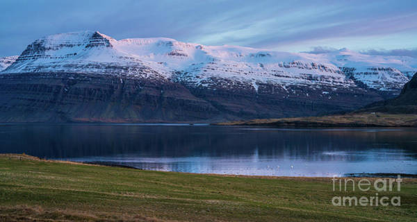 Wall Art - Photograph - Iceland Eastfjords Serenity by Mike Reid