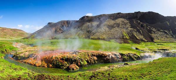 Photograph - Iceland Landscape Panorama Wonderful Colors by Matthias Hauser
