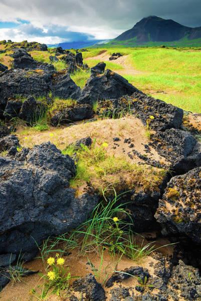 Photograph - Iceland Landscape Snaefellsnes Near Budir by Matthias Hauser
