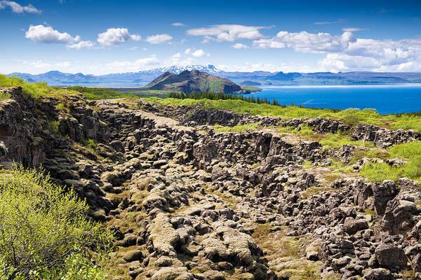 Photograph - Iceland Landscape Thingvellir by Matthias Hauser