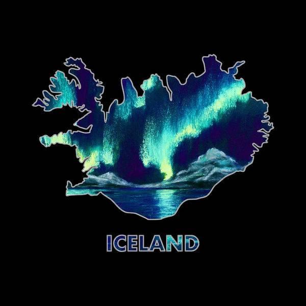 Digital Art - Iceland - Northern Lights - Aurora Hunters by Anastasiya Malakhova