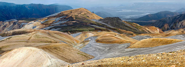 Pastels Digital Art - Iceland Panorama In Laugavegur by Martin Krzywinski