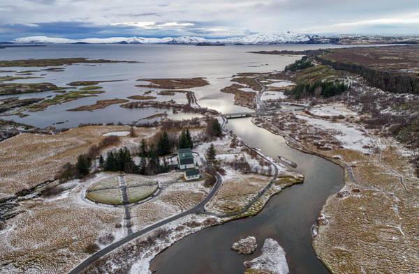 Photograph - Iceland Park From Above by Pradeep Raja PRINTS