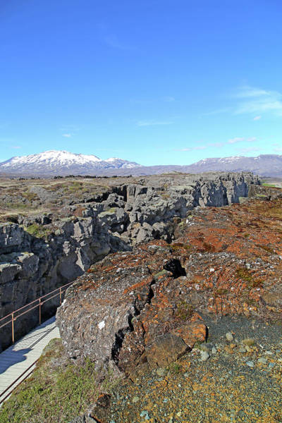 Wall Art - Photograph - Iceland Thingvellir Plate Tectonics  by Betsy Knapp