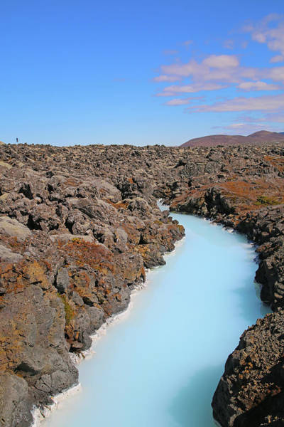 Wall Art - Photograph - Iceland Tranquil Blue Lagoon  by Betsy Knapp