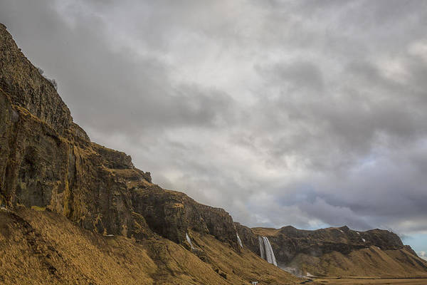 Photograph - Iceland Waterfall 3 by Kathy Adams Clark
