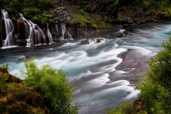 Photograph - Iceland Waterfall II by Tom Singleton