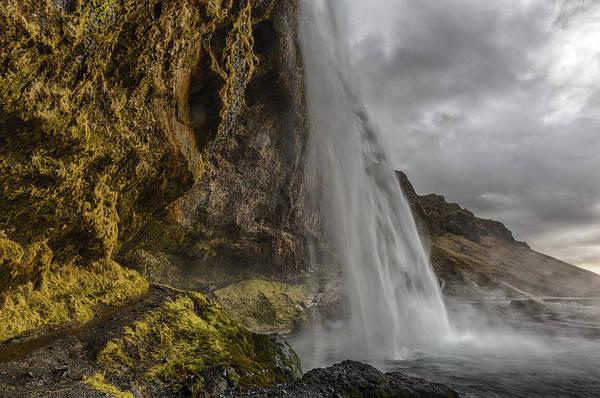 Photograph - Iceland Waterfall by Kathy Adams Clark