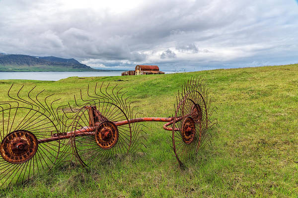 Photograph - Icelandic Farm by Tom Singleton