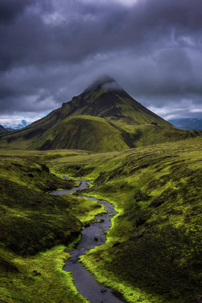 Moss Green Photograph - Icelandic Highlands by Tor-Ivar Naess