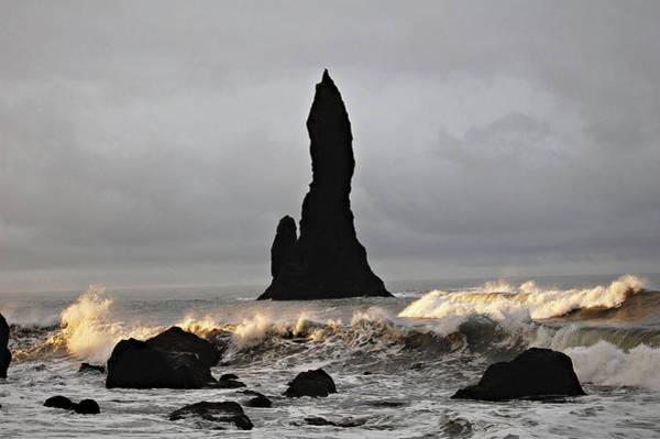 Photograph - Icelandic Monolith by Matt Cegelis