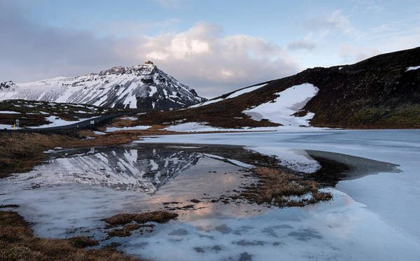 Icelandic Landscapes Wall Art - Photograph - Icelandic Mountain  Landscape, Iceland by Michalakis Ppalis