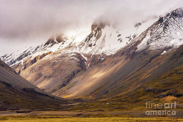 Wall Art - Photograph - Icelands Dramatic Landscape by Mike Reid