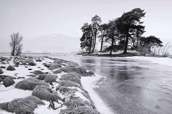 Photograph - Icey Loch Tulla by Stephen Taylor