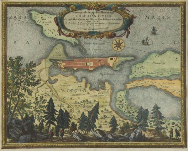 Painting - Ichnographia Oppidi Et Munimenti Christianopolis by Celestial Images