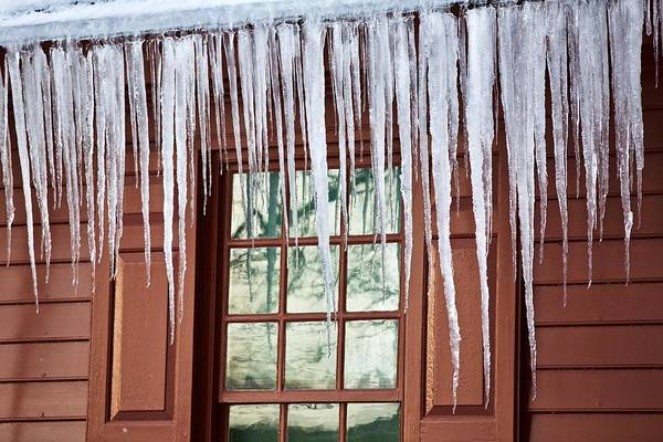 Taper Photograph - Icicles In January by Rachel Morrison