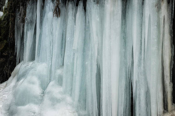 Photograph - Icicles, No. 3 by Belinda Greb