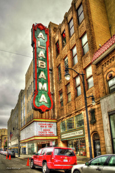 Photograph - Iconic Beauty Alabama Theatre Birmingham Alabama Art by Reid Callaway