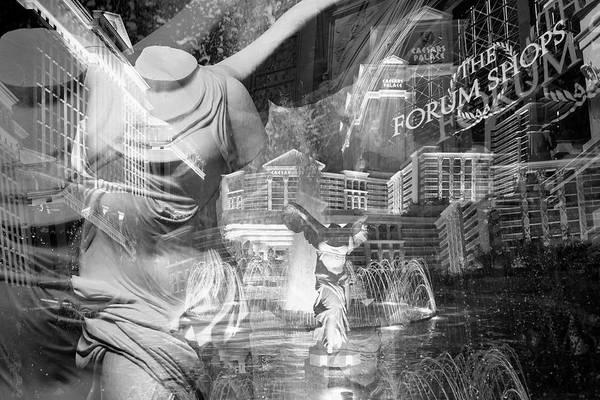Wall Art - Photograph - Iconic Caesars by Ricky Barnard