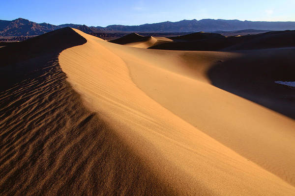 Photograph - Iconic Dunes At Death Valley by Matt Cohen