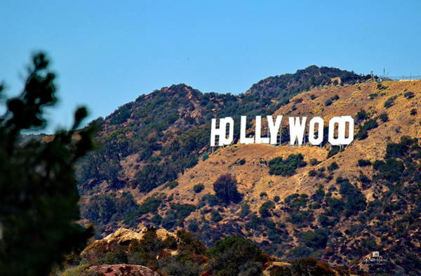 Iconic Hollywood Sign Art Print