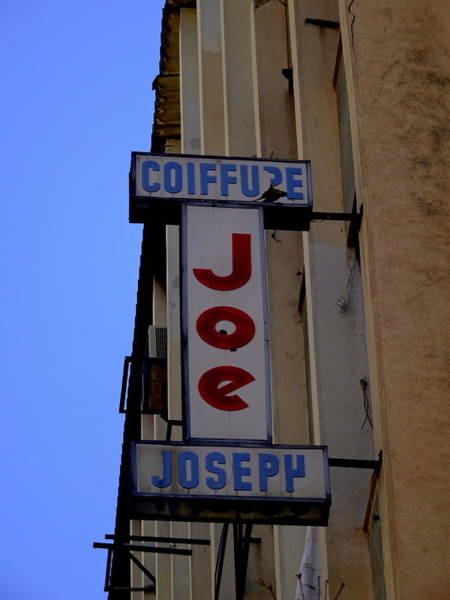 Arte Photograph - Iconic Joe Coiffure In Beirut by Funkpix Photo Hunter