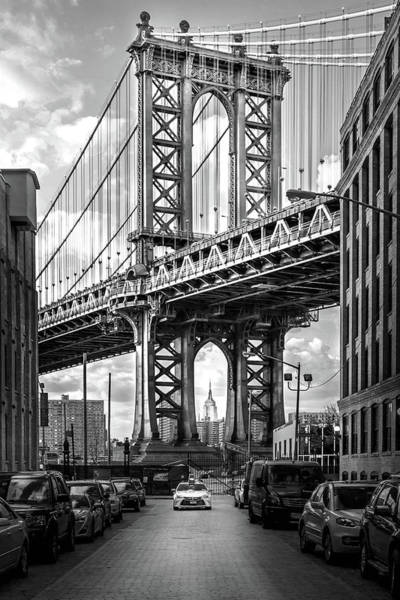 Road Photograph - Iconic Manhattan Bw by Az Jackson