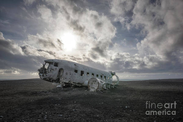 Photograph - Iconic Plane Wreck  by Michael Ver Sprill