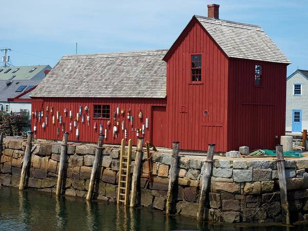 Photograph - Iconic Rockport Ma by Bruce Gannon