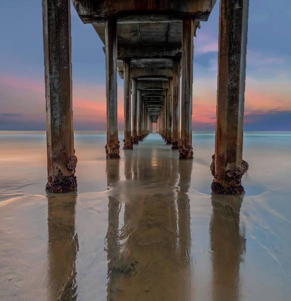 Wall Art - Photograph - Iconic Scripps Pier by Larry Marshall