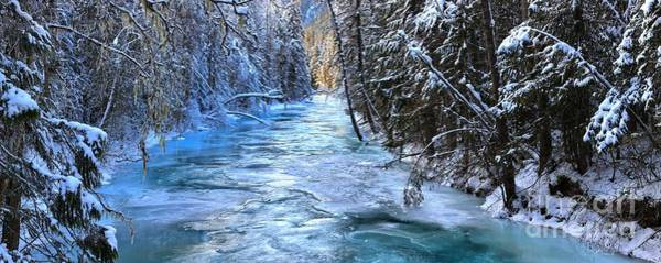 Photograph - Icy Blue Paradise by Adam Jewell