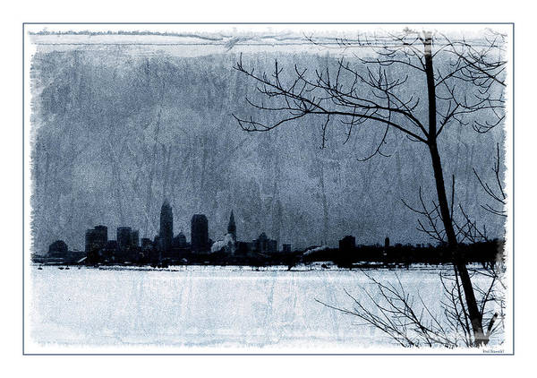 Wall Art - Photograph - Icy Cleveland by Kenneth Krolikowski