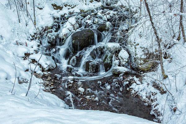 Photograph - Icy Creek by Belinda Greb