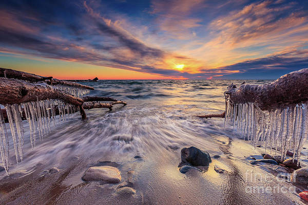 Wall Art - Photograph - Icy Cudahy Rush by Andrew Slater