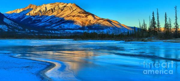 Photograph - Icy Gold by Adam Jewell