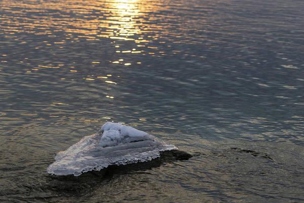Photograph - Icy Island - by Georgia Mizuleva
