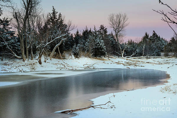 Photograph - Icy Pond #3 by Richard Smith