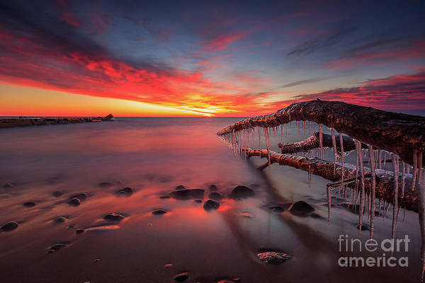 Mke Photograph - Icy Reach by Andrew Slater