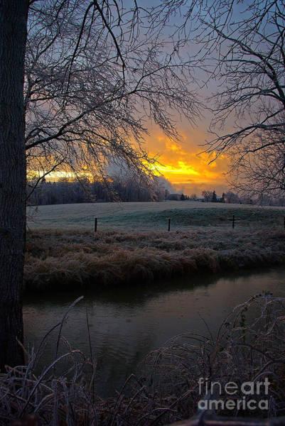 Tulpehocken Creek Photograph - Icy Tulpehocken - Vert by Rich Walter