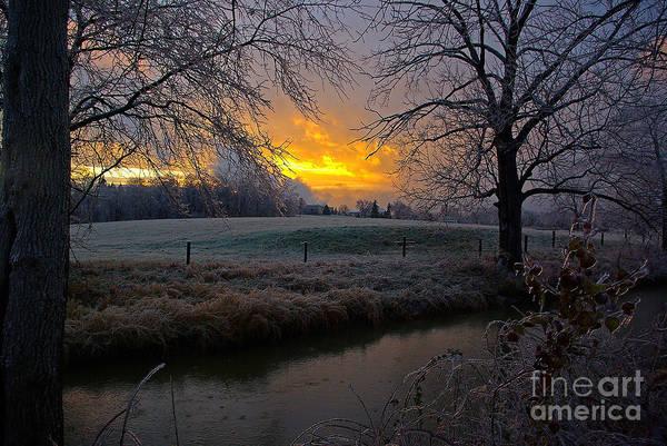 Tulpehocken Creek Photograph - Icy Tulpehocken Creek by Rich Walter