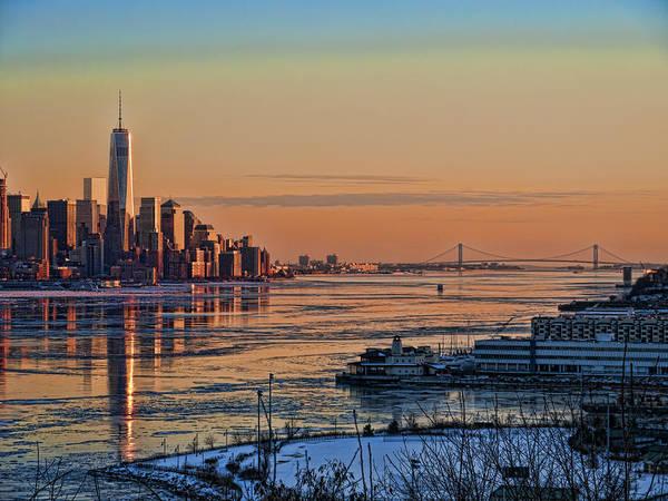 Photograph - Icy Warm Sunset by S Paul Sahm