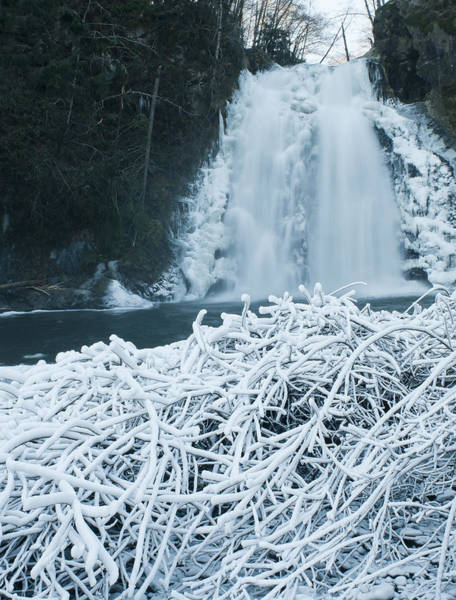Photograph - Icy Waterfall by Robert Potts