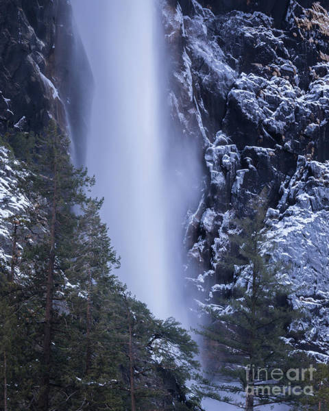 Photograph - Icy Waterfall  by Vincent Bonafede