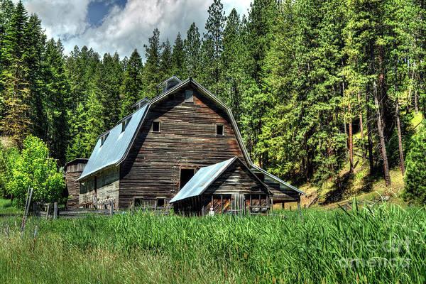 Wall Art - Photograph - Idaho Barn by Rick Mann