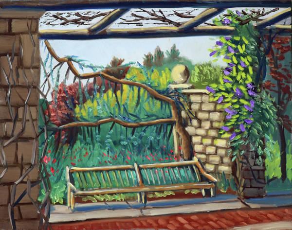 Idaho Botanical Gardens Art Print