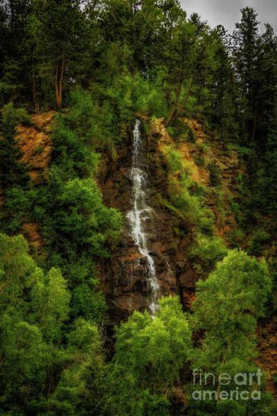 Photograph - Idaho Springs Waterfall by Jon Burch Photography