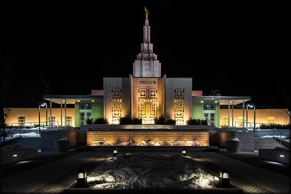 Photograph - Idaho Temple by Erika Fawcett